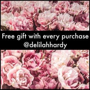 Free gift with every purchase from my closet!